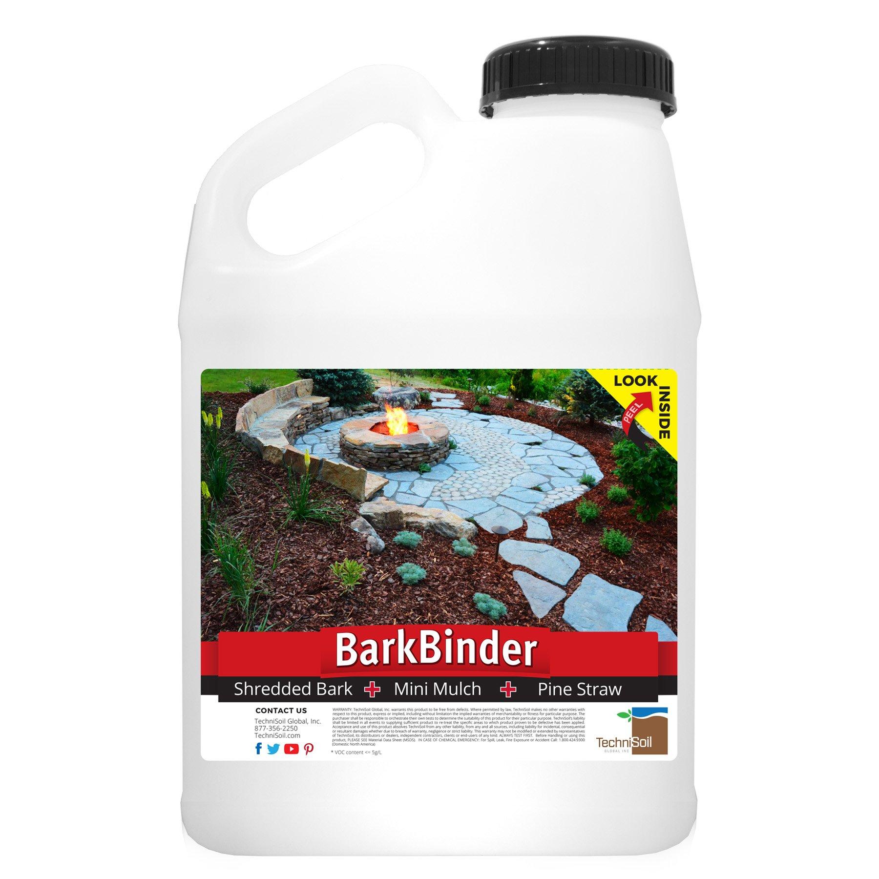 BarkSealer Mulch Color Enhancement & Protection (1-gallon bottle) by TechniSoil (Image #2)