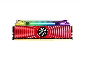XPG Spectrix D80 Liquid-Cooled RGB 4133MHz 16GB (2x8GB) 288-Pin PC4-33000 CL19-23-23 1.4V. Desktop U-DIMM Memory Retail Kit (AX4U413338G19J-DR80)