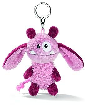 NICI Llavero de peluche monstruo, color rosa (33385): Amazon.es: Juguetes y juegos