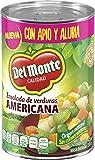 Del Monte Ensalada de Verduras Americana, Ensalada de verduras, 425 gramos