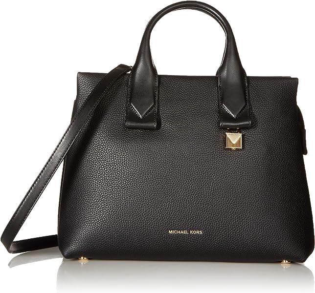 2c301ba84189 Michael Michael Kors Rollins Large Leather Satchel  Handbags  Amazon.com