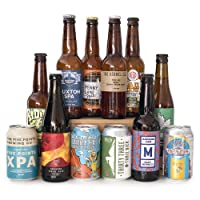 HonestBrew Craft Beer Starter Pack - 12 Craft Beers, Tasting Glass & Bottle Opener