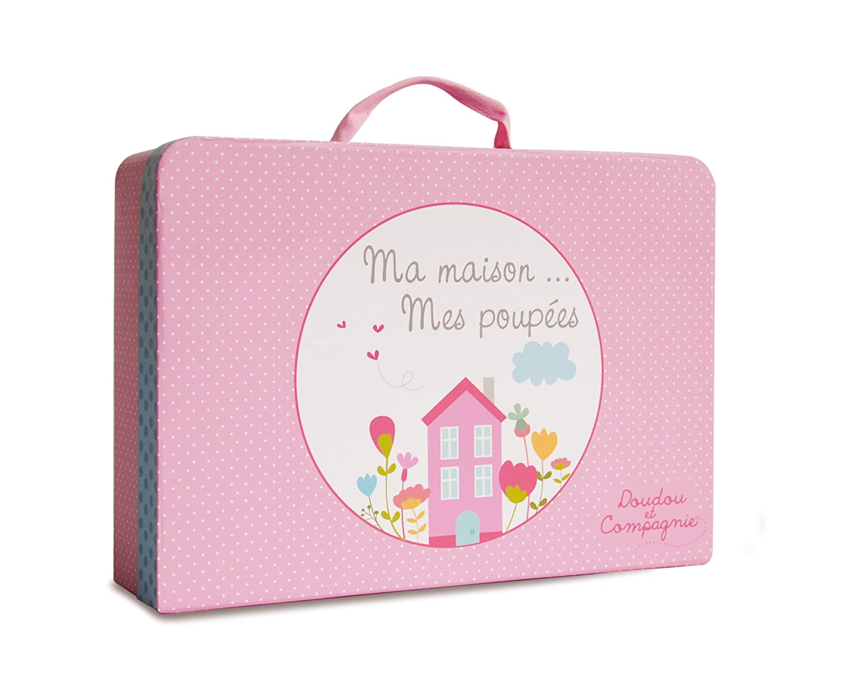 Doudou et Compagnie Valise Ma Maison//Sa Poupee