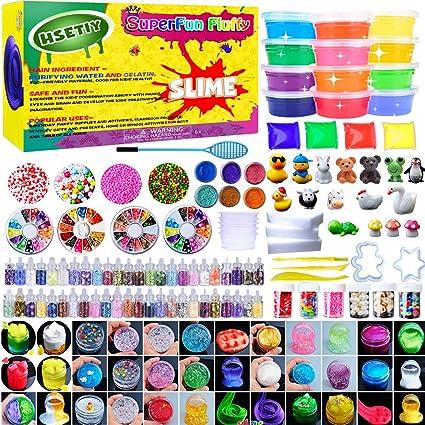 HSETIY Super Slime Set - Bolas Coloridas de Espuma de Limo y ...