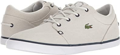 73acf72a4 Lacoste Mens Bayliss 118 3 Off-White Navy 10.5 M