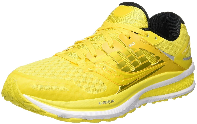 Saucony Triumph ISO 2 Pop - Zapatillas de Running de Competición Hombre 43 EU Multicolor (Long Run Lemon)
