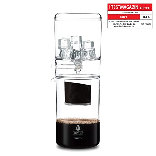 DRIPSTER Cold Brew Dripper (4 cups / 600ml), Cold Drip Coffee Maker
