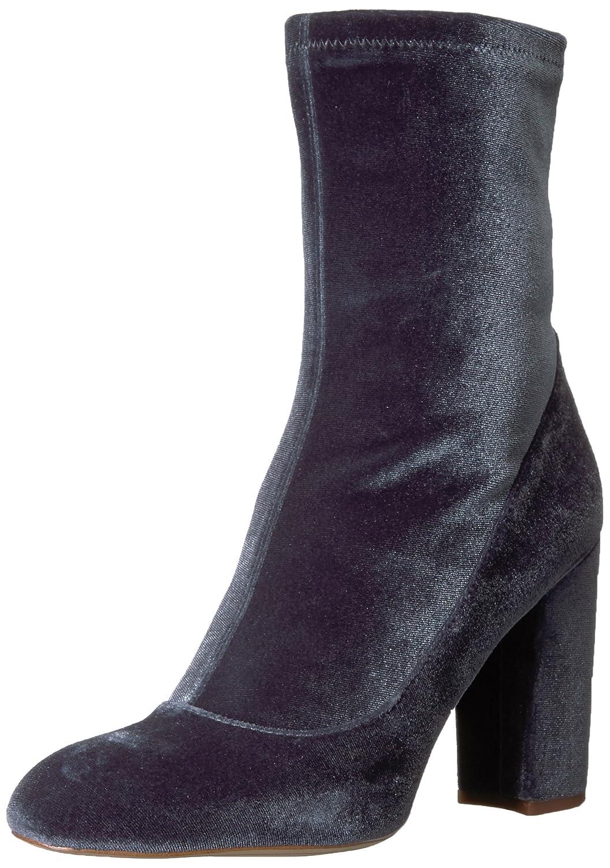 Sam Edelman Women's Calexa Fashion Boot B071Y64ZSQ 6 B(M) US|Blue Grey Stretch Velvet