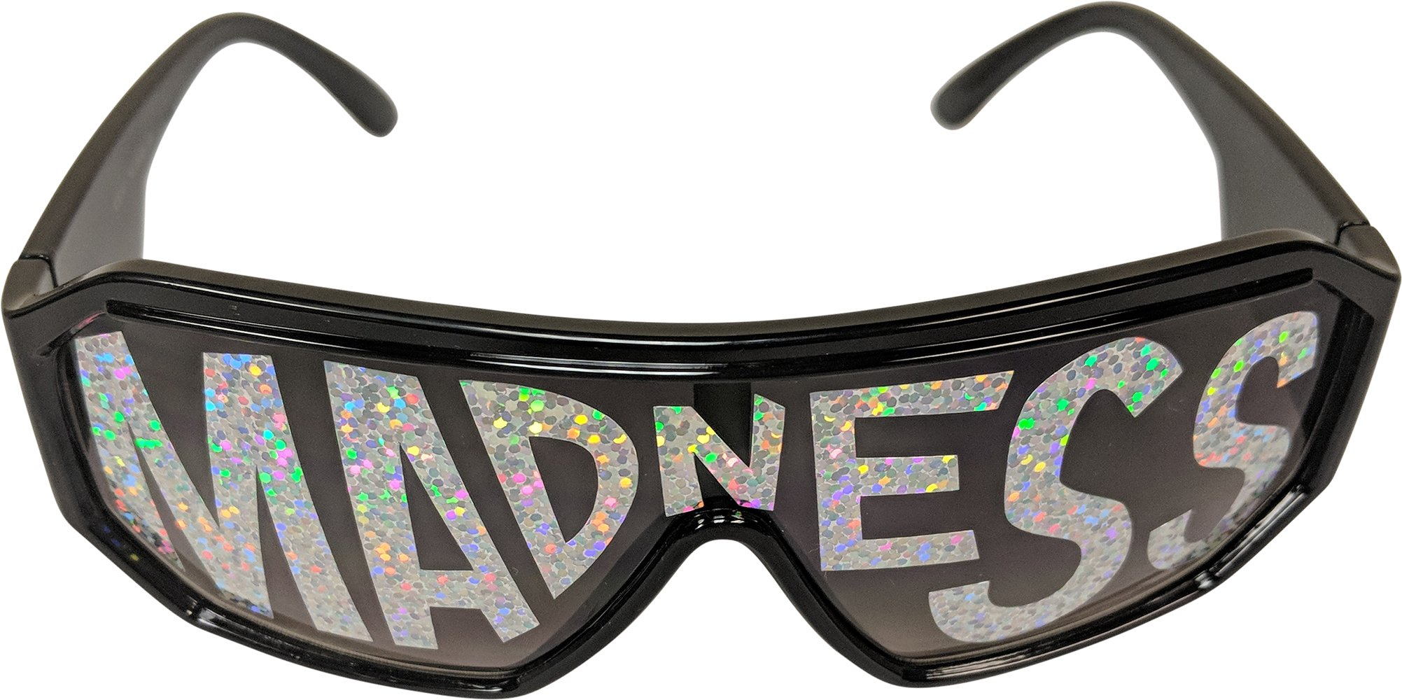 Macho Man Randy Savage Madness Black See Through Party Sunglasses by Macho Man