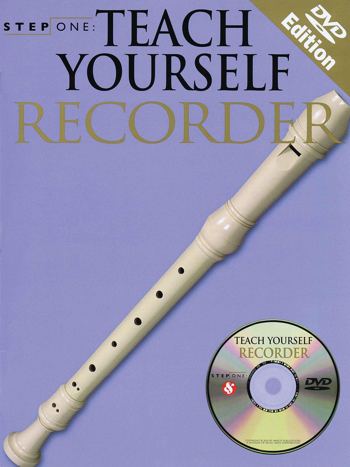 Hal Leonard Teach Yourself Recorder (Book/CD/DVD)