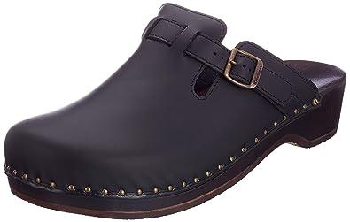 4f7cb140487003 Berkemann Riemen-Toeffler Unisex-Erwachsene Clogs  Amazon.de  Schuhe ...