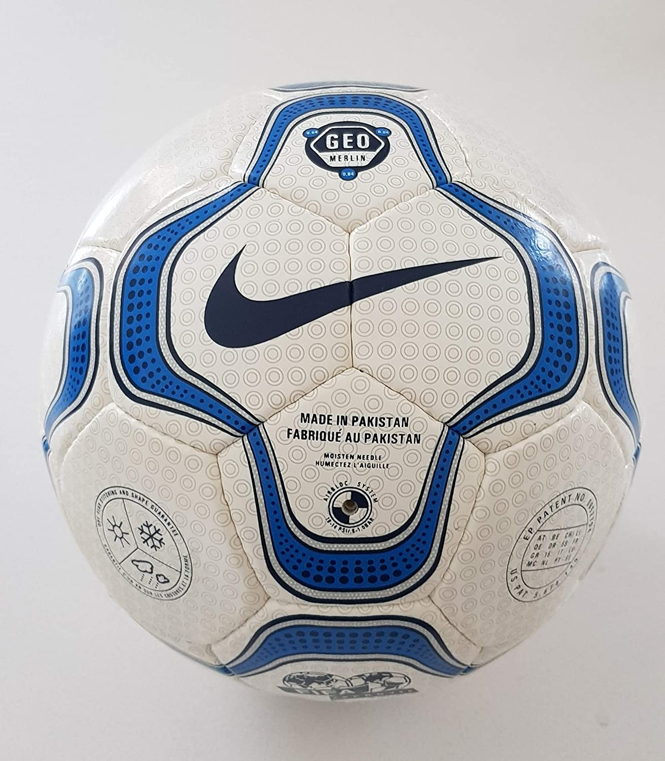 super popular f56eb dfe55 Nike Geo Merlin Vapor Napoli Serie A Official Match Ball ...