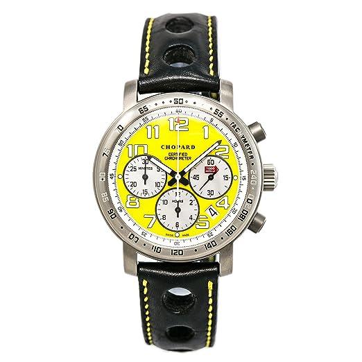 Chopard Mille Miglia automatic-self-wind Mens Reloj 16/8915 (Certificado) de segunda mano: Chopard: Amazon.es: Relojes