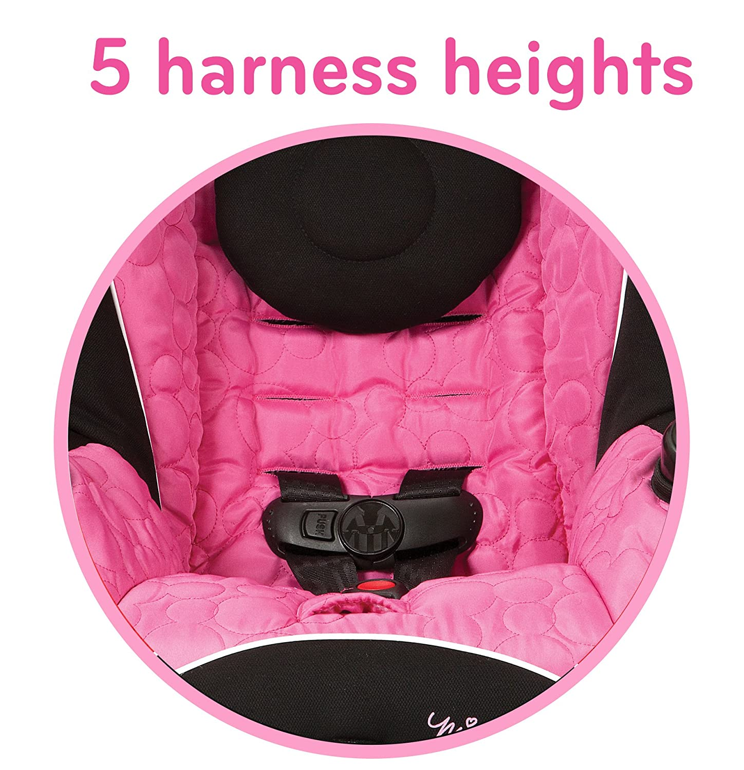 Amazon Disney Baby Minnie Mouse APT 40 Convertible Car Seat Mouseketeer