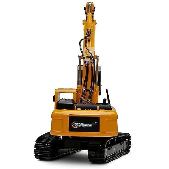 El metal superior de la raza muere el tractor del juguete de la construcción del excavador del molde, juguete del excavador con la pala del metal - TR 211D: ...
