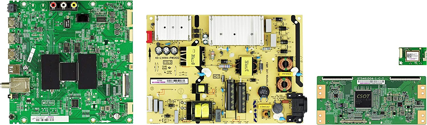 TCL 55S405TBCA 55S403TCAA Complete LED TV Repair Parts Kit