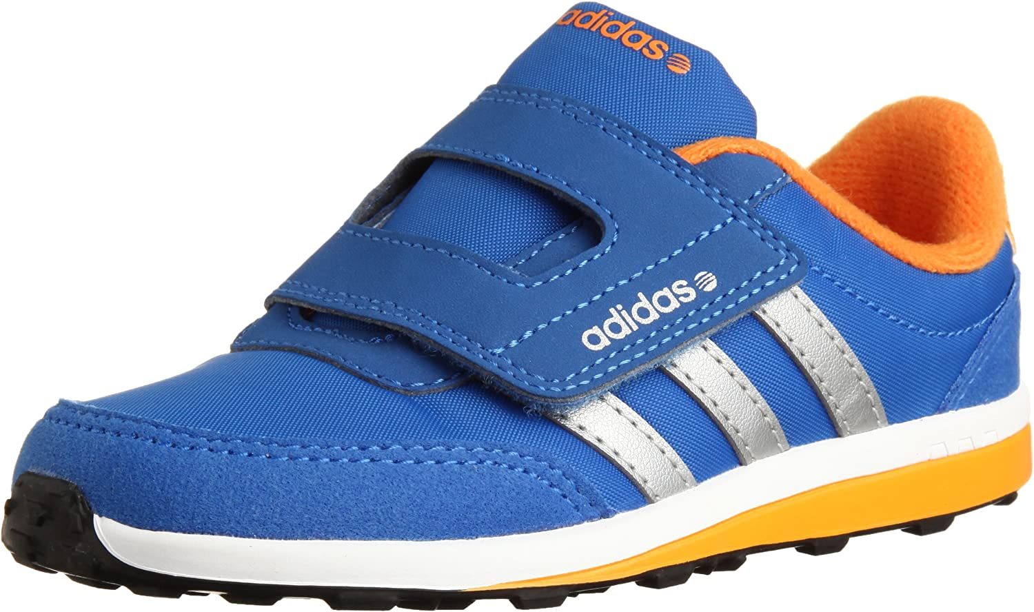 Kids adidas AltaSport CF Trainers Infants Court Hook and Loop Stripe New