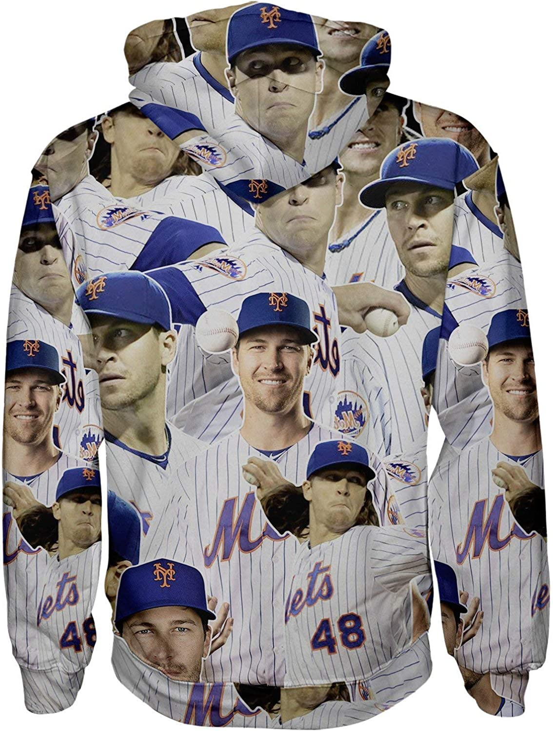 Jacob deGrom Pullover Hoodie