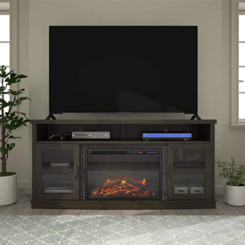 Ameriwood Home Ayden Park Fireplace TV Stand up to 65″