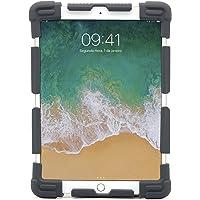 Capa Universal Para Tablets de 9 a 12 Polegadas Geonav em Silicone e Laterais Ajustáveis - Preta, GEONAV, Capa Protetora para Tablet, Cinza, 240 x 173 x 18 mm