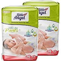 Little Angel Baby Pull Ups, Medium (80 Pcs 2 Pack)