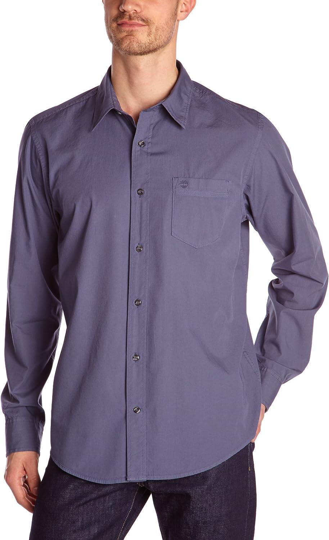 Timberland - Camisa de manga larga para hombre, talla 2XL, color blanco 2000: Amazon.es: Ropa y accesorios