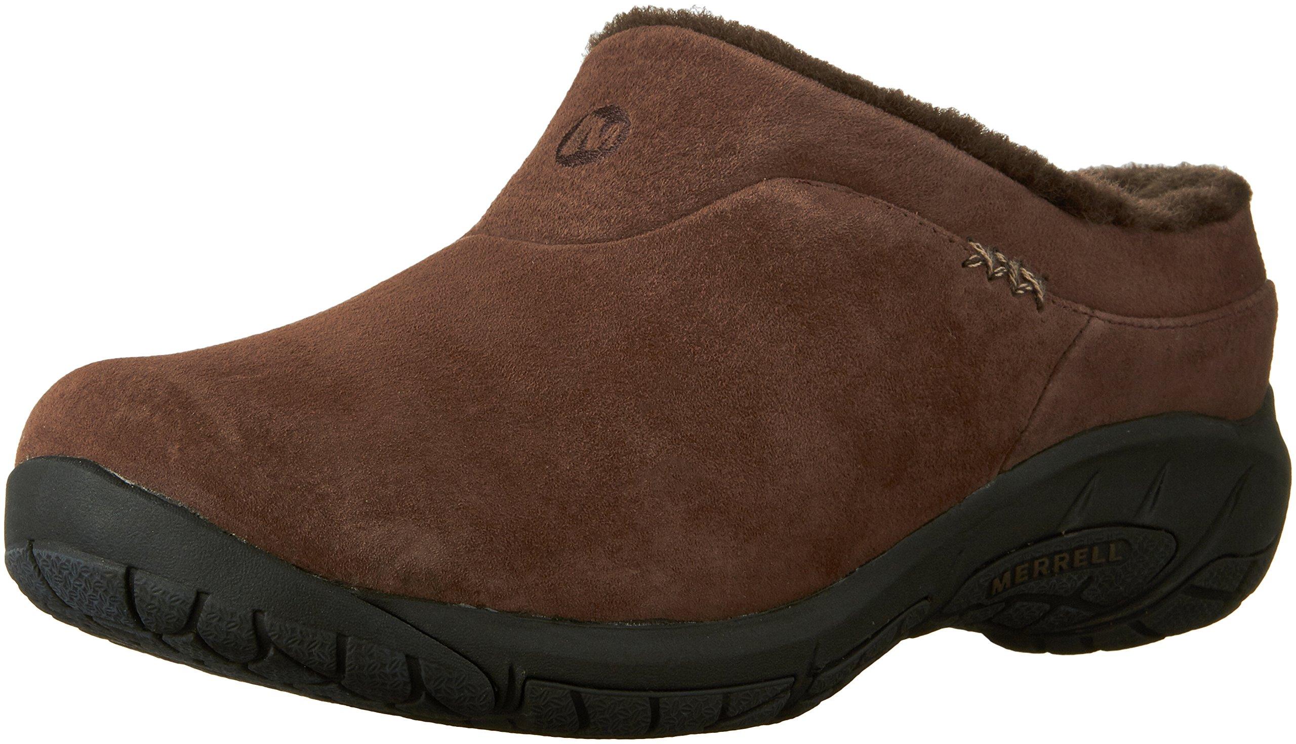 Merrell Women's Encore Ice Slip-On Shoe, Chocolate Brown, 6 M US