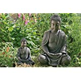 Escultura decoración de jardín Estatua Buda meditando 70 cm estilo Asia