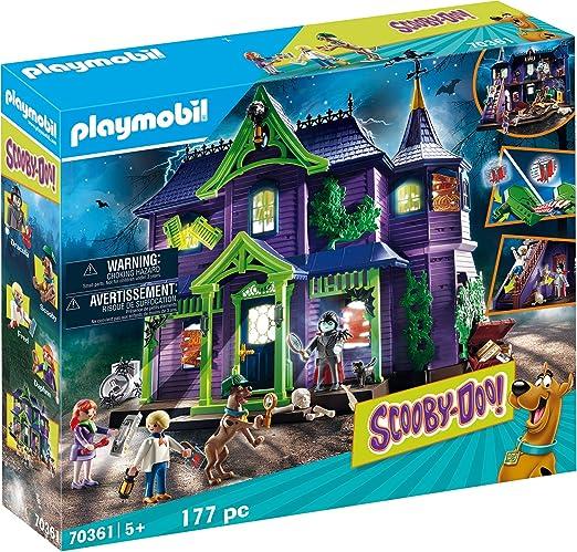 Playmobil - SCOOBY DOO! Aventura en la casa embrujada, Juguete, Color Multicolor, 70361: Amazon.es: Juguetes y juegos