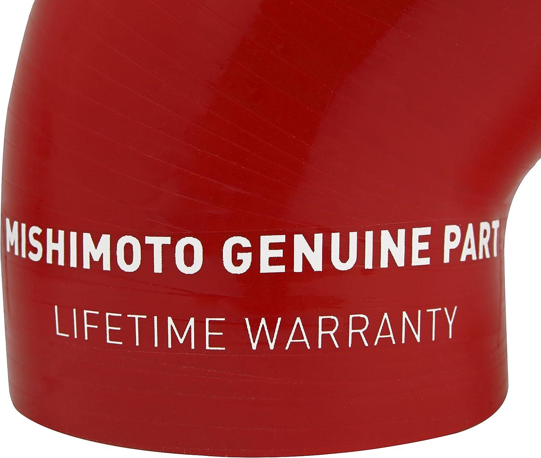 Red 2008+ Mishimoto MMHOSE-SUB-ITBRD Subaru WRX Silicone Throttle Body Hose