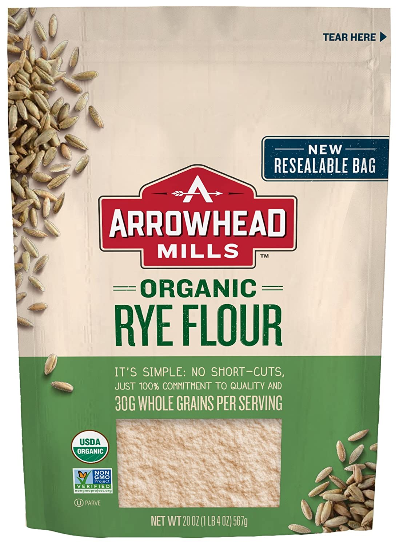 Harina de arroz integral libre de gluten y orgánica Arrowhead Mills