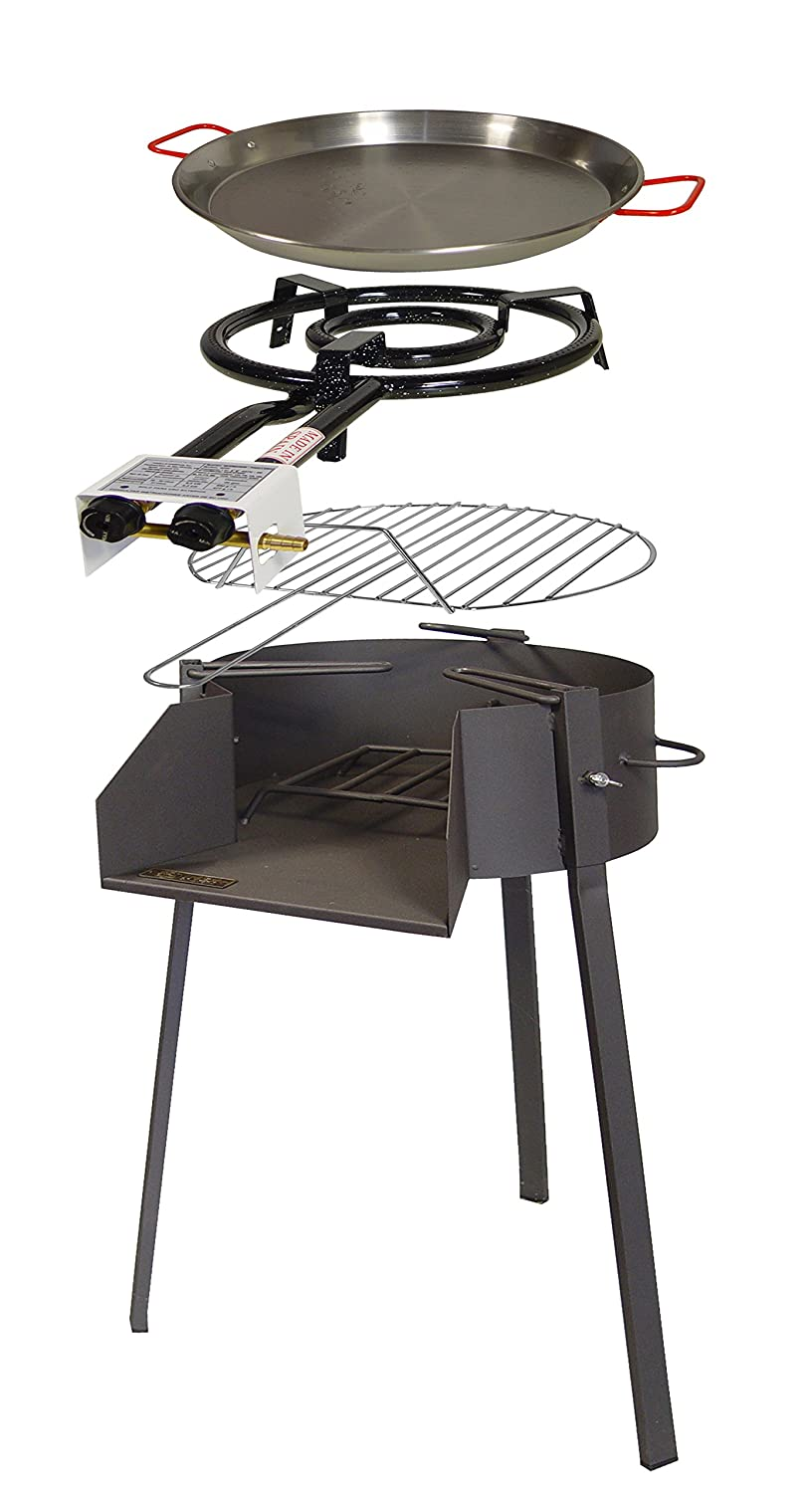 Imex The Fox 71586 Kit – Barbecue Round, 50 x 61 x 75 cm, Black Imex El Zorro