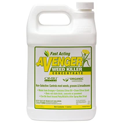 Nature's Avenger Organic Weed Killer Concentrate, 1 Gallon
