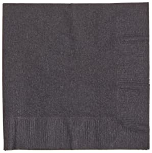Hoffmaster 020212 Beverage Napkin, Coin Embossed, 1-Ply, 1/4 Fold, 10