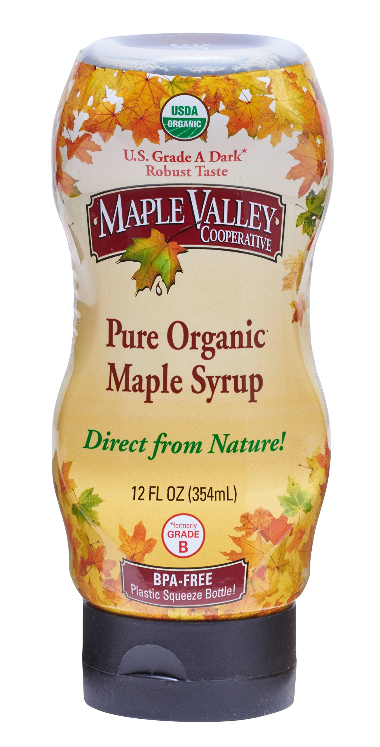 Maple Valley 12 Oz. Squeeze Bottle Grade A Dark & Robust (1 Pack)