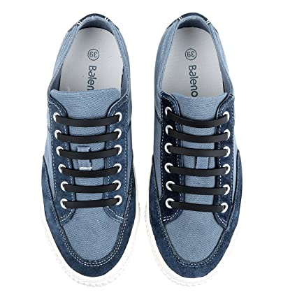 No Tie Lacci Shoelaces In Silicone Elastici Scarpe Per c3LSRjq5A4