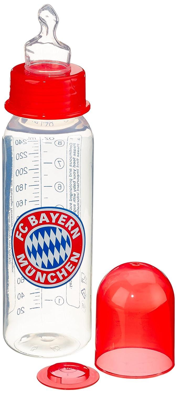 primamma 44573000 - Babyflasche FC Bayern München 250ml Silikon Gr. 1 MAM Babyartikel