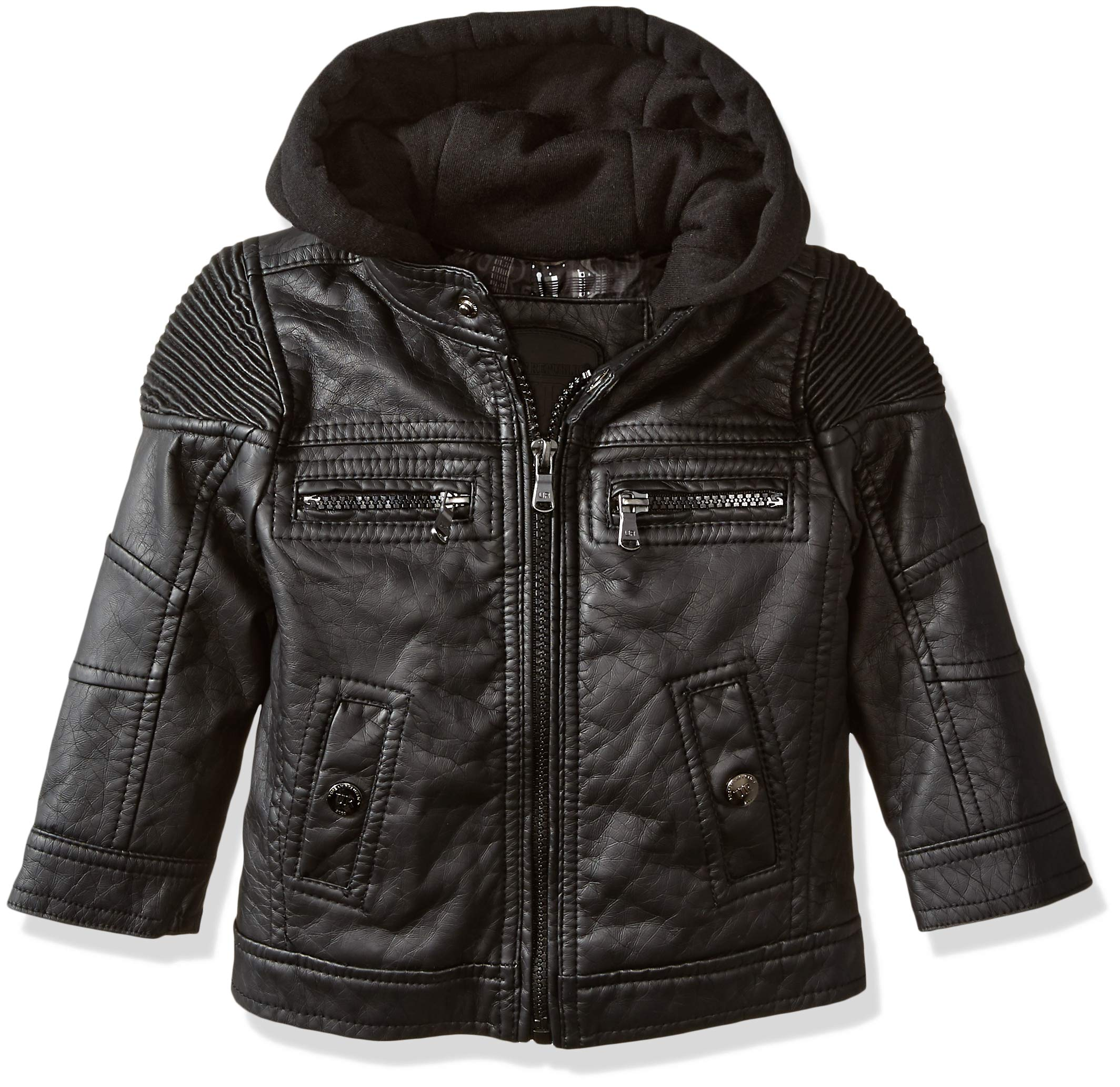 cbce464000b5 Galleon - Urban Republic Baby Ur Boys Faux Leather Jacket