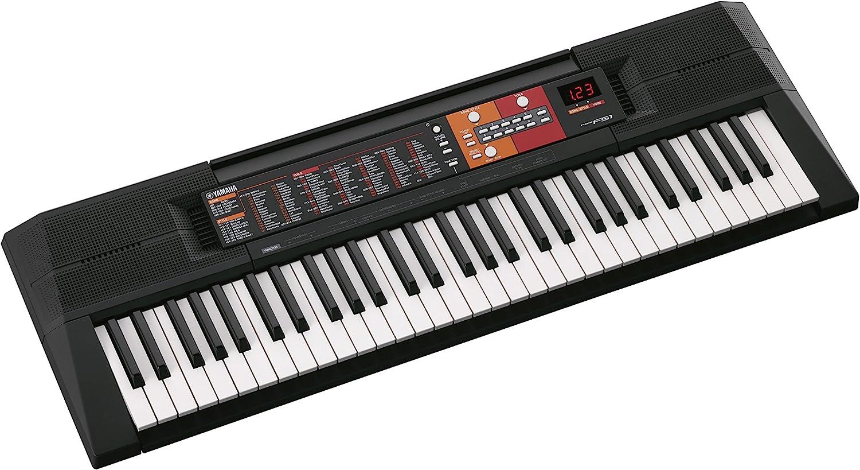 Yamaha PSRF51 Teclado portátil de 61 teclas: Amazon.es ...