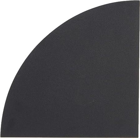 ModulHome 6RAN790NR Etag/ère Flottante Panneau//MDF Noir 25 x 22,8 x 3,4 cm
