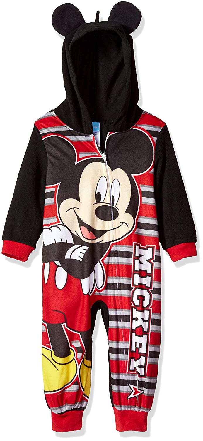 Disney Boys' Toddler Mickey Mouse Blanket Sleeper MKEBS