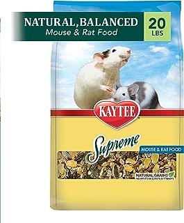product image for Kaytee Supreme Mouse And Rat Food, 20-Lb Bag