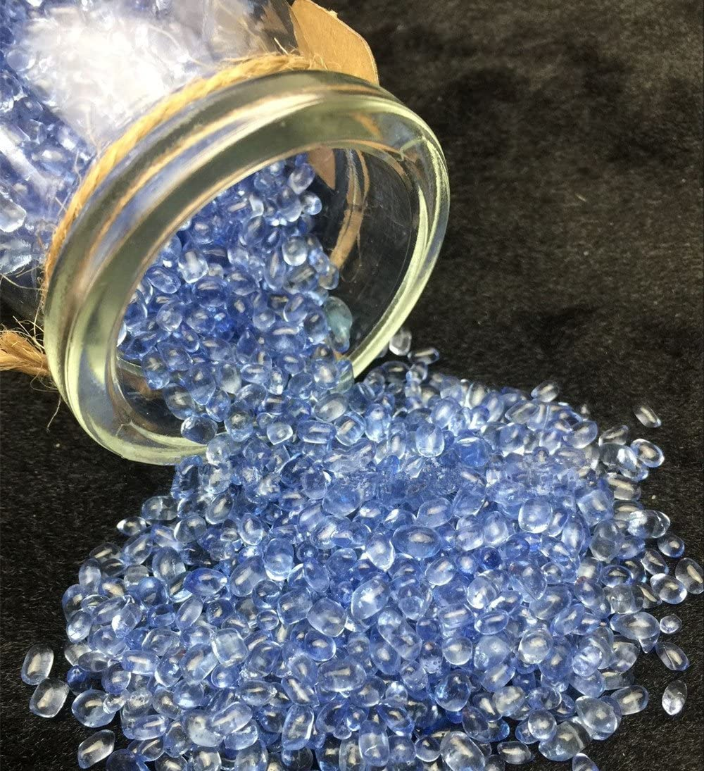 AITELEI - Botellas de cristal natural con piedras preciosas ...