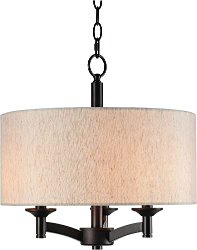 Kenroy Home 93638ORB Rutherford 3 Light Pendant