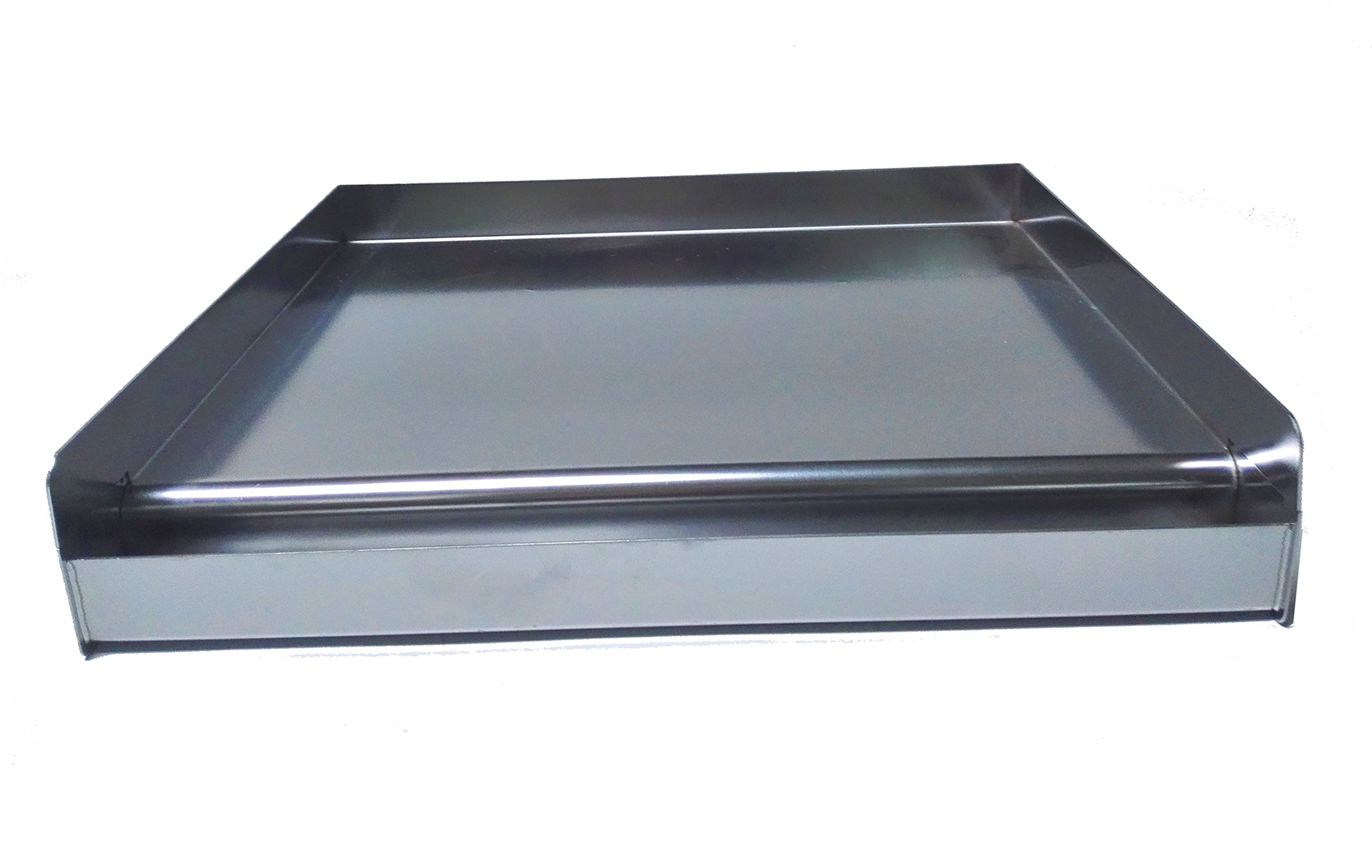 Universal Griddle for BBQ Grills, Stainless(16''W×13''D×3''H)