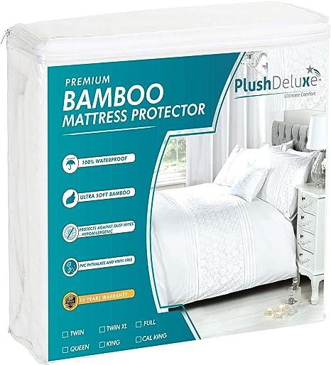 Quilted Mattress Protectors  Mattress cover Waterproof Hypoallergenic