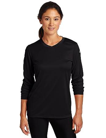 Amazon.com: ASICS Women's Circuit 7 Warm-Up Long Sleeve Shirt ...