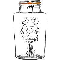 Kilner Clip Top dispensador de bebidas redondo P001