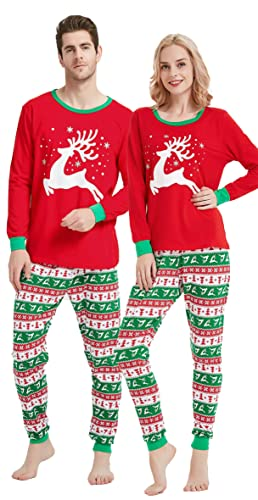 Amazon.com  Matching Family Christmas Pajamas Boys Girls Elk Jammies  Children PJs Gift Set  Clothing 8b119c6fb