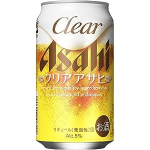 【新ジャンル/第3のビール】クリアアサヒ [ ビール 350ml×24本 ]